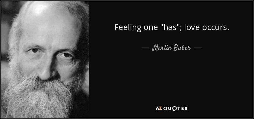 Feeling one