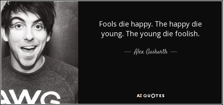 Young Alex Gaskarth
