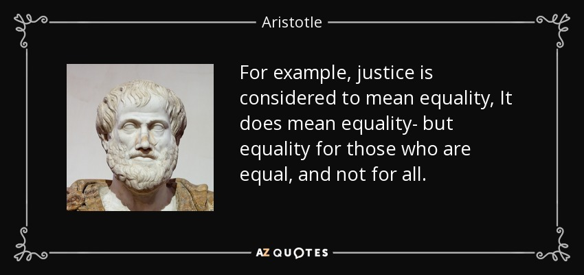 What does this Aristotle quote mean?
