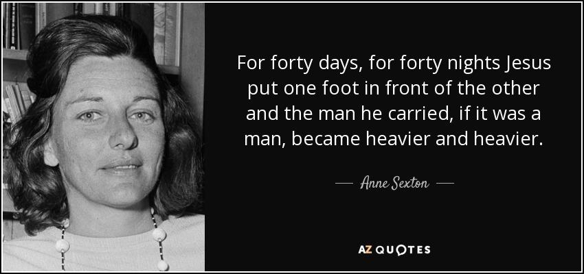 Anne Sexton jesus