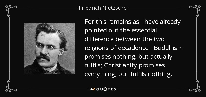 fredriech nietzches existentialism essay Some key thinkers that went on to establish the importance of existentialism includes soren kierkegaard and friedrich nietzsche one strength for this ethical theory includes the fact that it makes each person responsible for their own decisions.