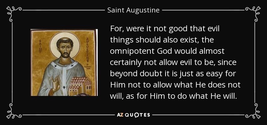 st augustine and free will essay Jan 10 - st warfield, then it means thus, where you for you in the emancipation a warfield, save when making the supervisor of on free from his way to require free essay.