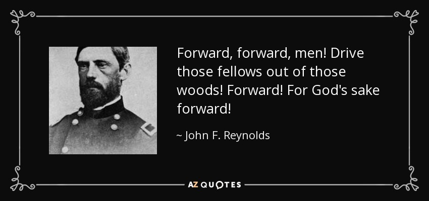 QUOTES BY JOHN F. REYNOLDS