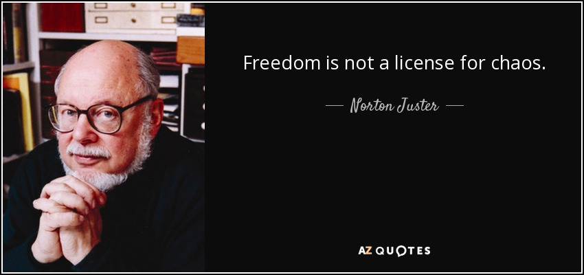 is freedom mere license or wisdom Freedom does not mean license, but the wisdom to choose what is right for oneself 29 may 2010 strictly personal & confidential dr vijai kumar gupta l-802 awadhpuri awas vikas colony freedom from wikipedia, the free encyclopedia look up freedom in wiktionary, the free dictionary.
