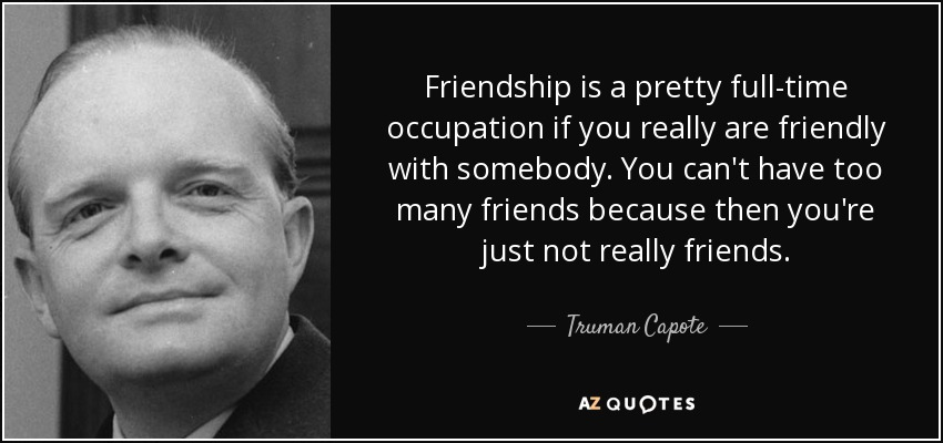 TOP 25 MANY FRIENDS QUOTES (of 149) | A Z Quotes