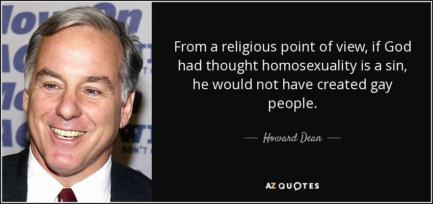 God and homosexuality quotes