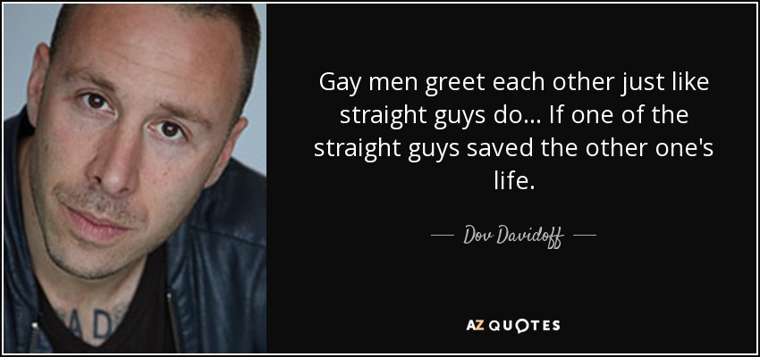 Do Gay Guys Like Straight Guys