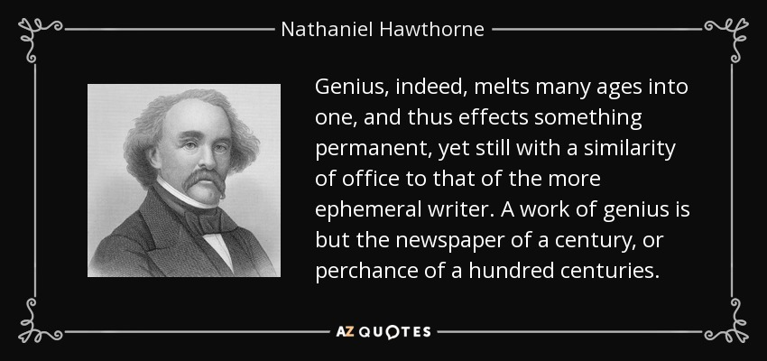 nathaniel hawthorne s work guilt vs innocence