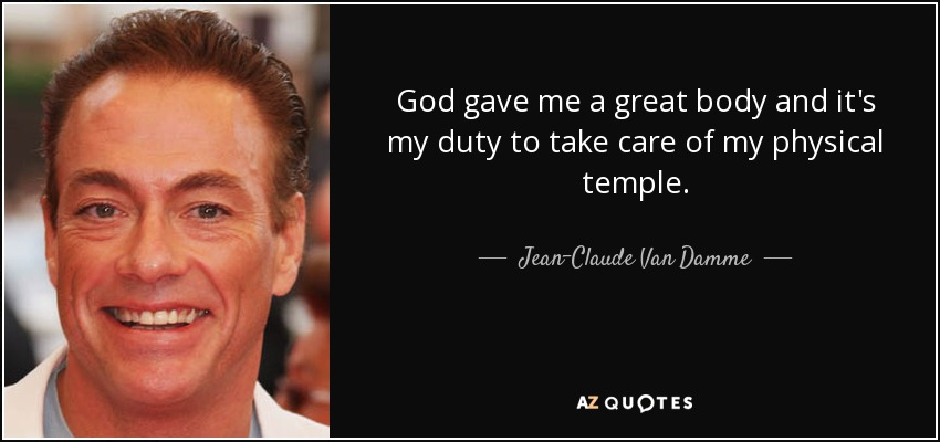 TOP 25 QUOTES BY JEAN-CLAUDE VAN DAMME (of 63)