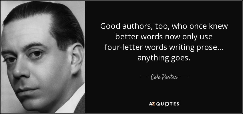Cole Porter - Anything Goes Lyrics | SongMeanings