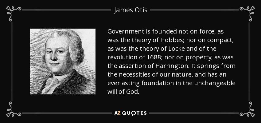 MERCY OTIS WARREN QUOTES image quotes at relatably.com |James Otis Quotes