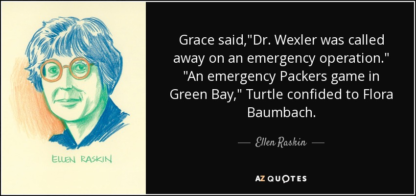 Grace said,