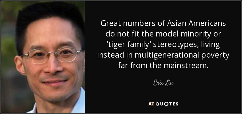 asian americans as the model minority