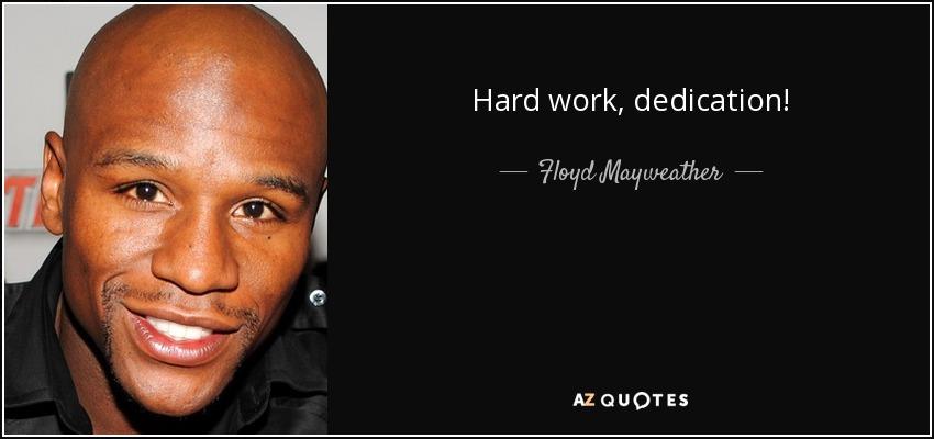 hard work pays in the long run