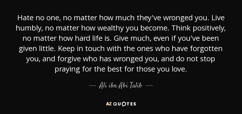 TOP 25 QUOTES BY ALI IBN ABI TALIB (of 153)