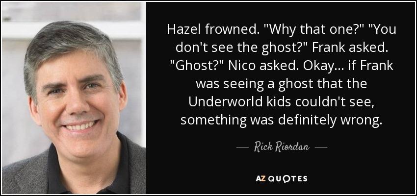 Hazel frowned.