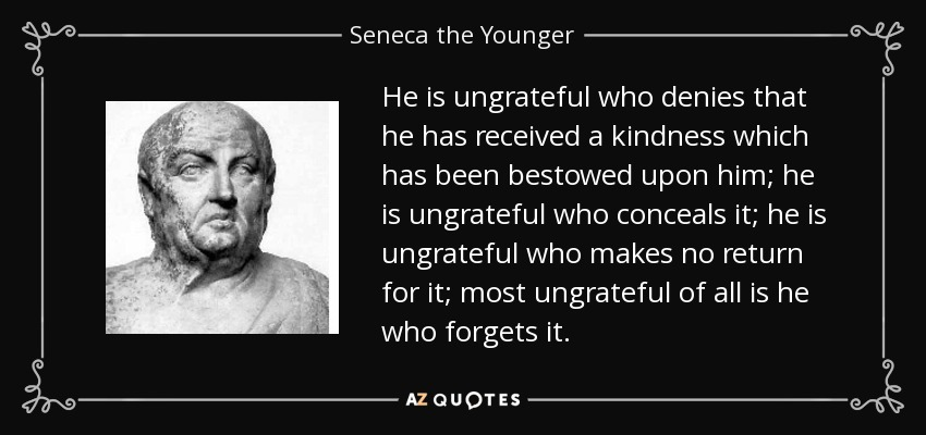 Top 25 Ungrateful Quotes Of 173 A Z Quotes