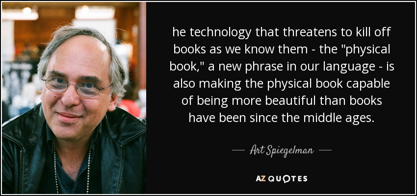he technology that threatens to kill off books as we know them - the