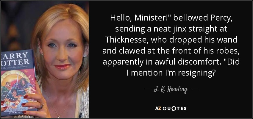 Hello, Minister!