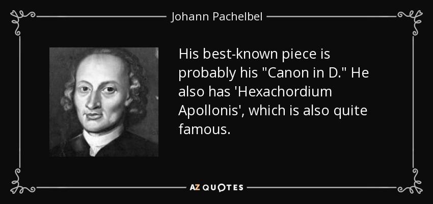 jhonann pachelbel Pachelbel canon, classical music johann pachelbel - canon in d major from london symphony orchestra plays great classics johann pachelbel canon or kanon.
