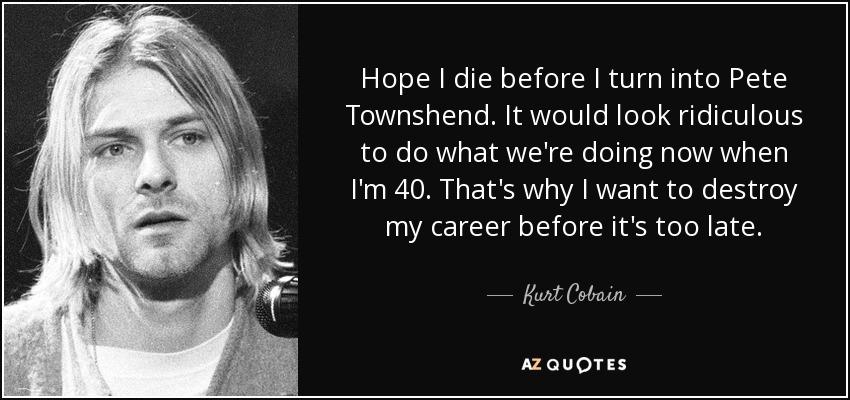 Essay/Term paper: Kurt cobain