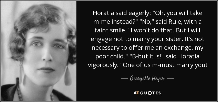 Horatia said eagerly: