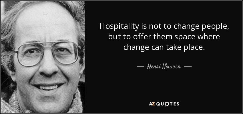 TOP 25 HOSPITALITY QUOTES (of 397) | A-Z Quotes