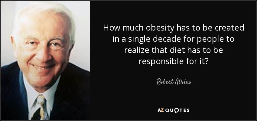 who should be responsible for obesity