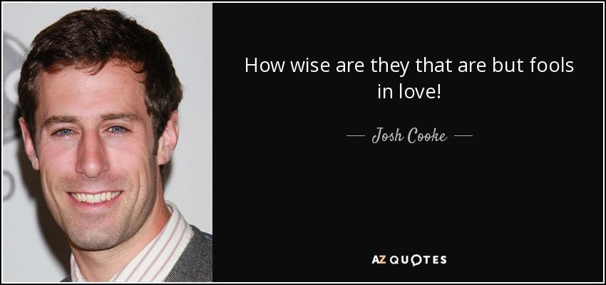 josh cooke twitter