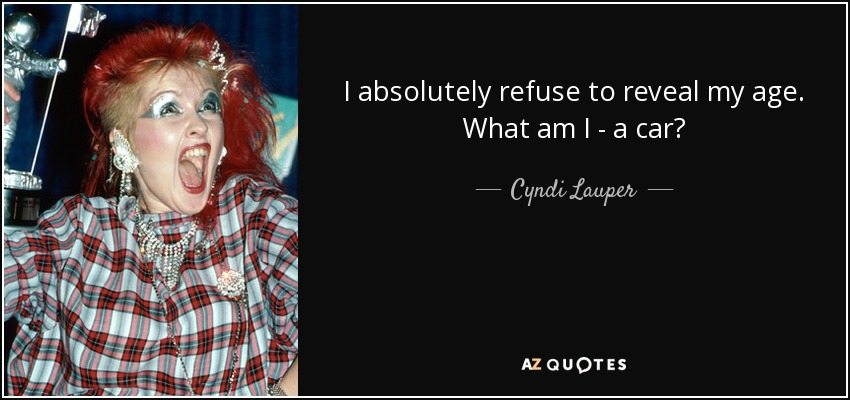 TOP 25 QUOTES BY CYNDI LAUPER (of 84) | A-Z Quotes