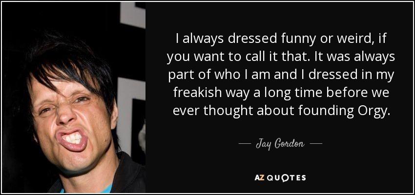 Jay Gordon van orgie