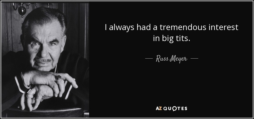 russ meyer filmography