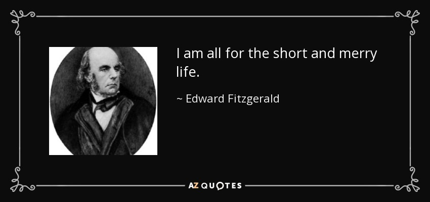 Edward T Hall Quotes: QUOTES BY EDWARD FITZGERALD