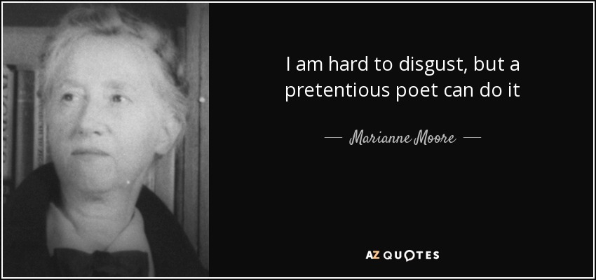 poetry by marianne moore analysis Poetry by marianne moore marianne the focus of modernism was to be new and encourage further thought and analysis  when marianne moore wrote poetry.
