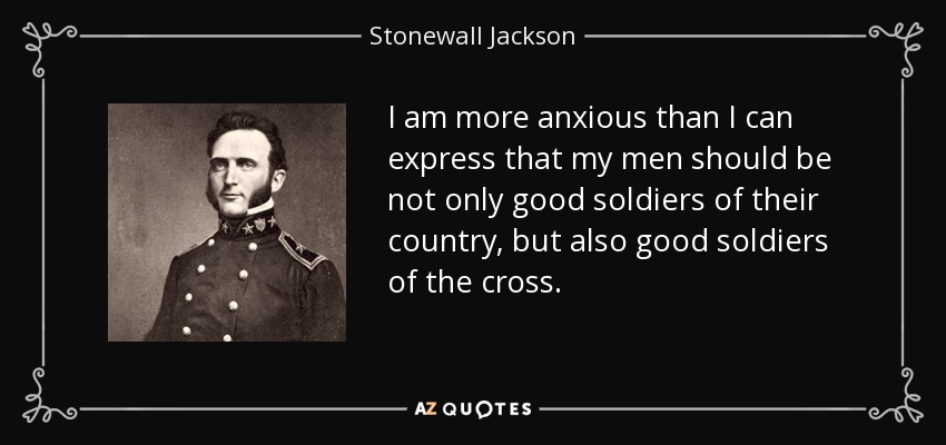 "the life of stonewall jackson a confederate commander in the civil war Confederate general thomas j ""stonewall"" jackson was one of the chief architects of the stunning confederate victory at the battle of chancellorsville, virginia, on may 2, 1863 along with."