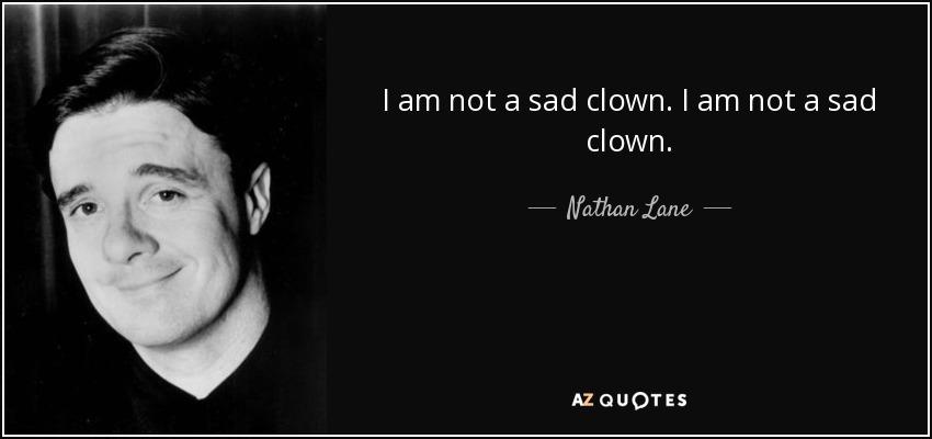 sad clown quotes