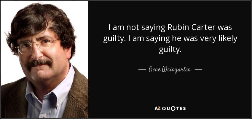 rubin carter guilty