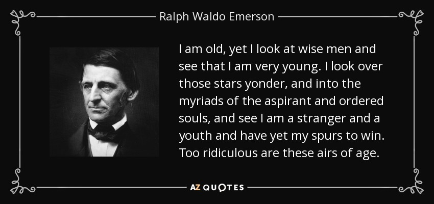 ralph waldo emerson a man thinking essay The essays of ralph waldo emerson has 1,998 ratings and 111 reviews eli said: i would like to preface this review by saying that the body of the review.