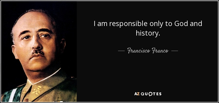 the life and leadership of francisco franco Francisco franco ruled over spain from 1939 until his death in 1975 his nationalist, authoritarian regime had a brutal grip on the country's political and cultural life—but also on science, according to education, science and ideology in spain (1890–1950), a recent book published in spanish in.