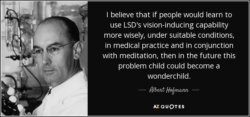 the practical uses of lsd in the medicinal world