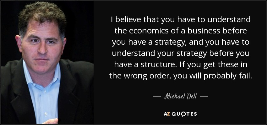 Michael Dell Quote I Believe That You Have To Understand The Classy Dell Quote To Order