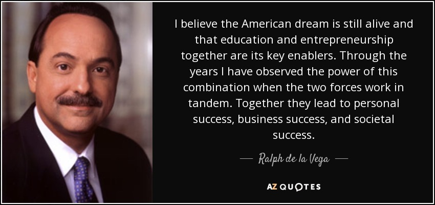 american dream is still alive Is the modern american dream attainable if we want to revive and achieve the american dream the american dream is alive.