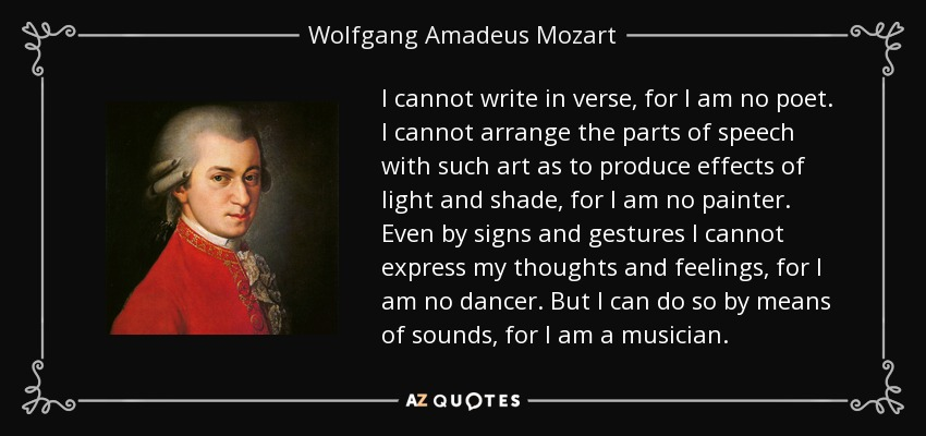 english speech mozart