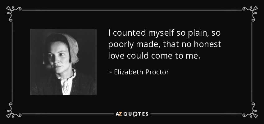 John proctor honorable quotes