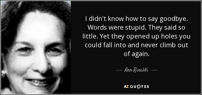 Top 21 Quotes By Ann Rinaldi A Z Quotes