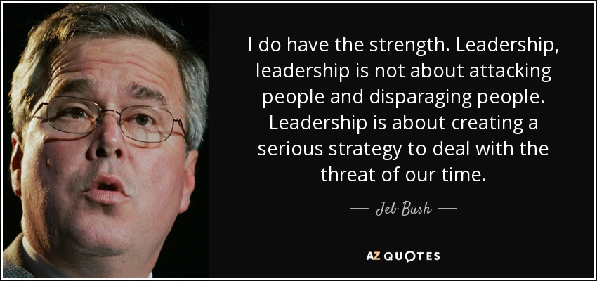 Jeb Bush Quotes Mesmerizing Top 25 Quotesjeb Bush Of 235  Az Quotes