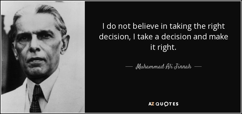 Right Decision Quotes Page 7 A Z Quotes
