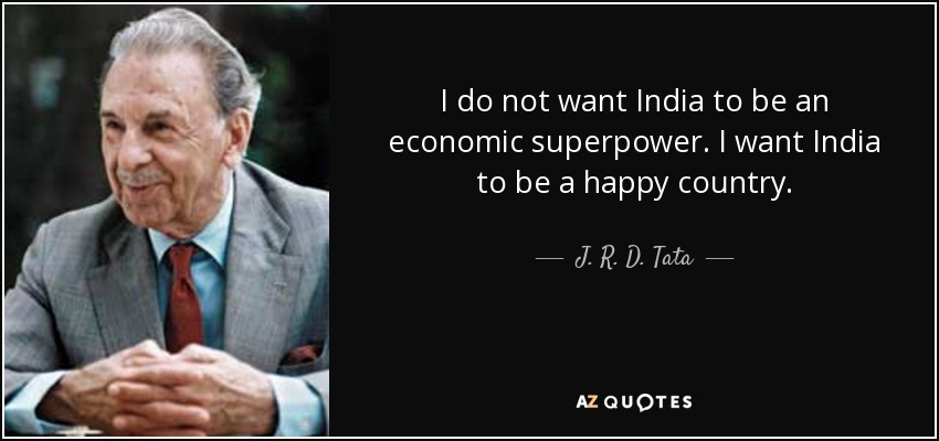 TOP 20 QUOTES BY J. R. D. TATA