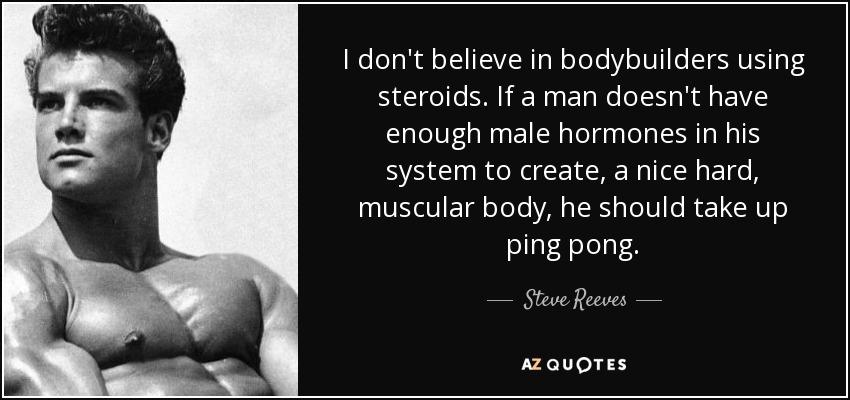 Steve Reeves Arnold Schwarzenegger
