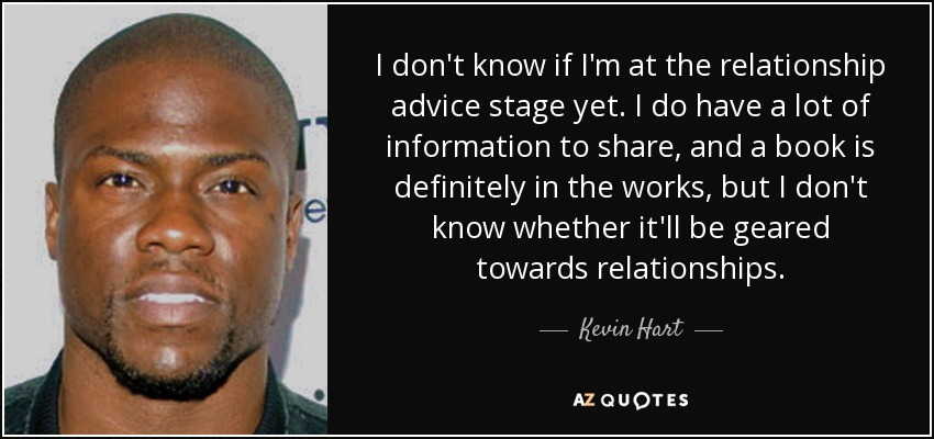 250 QUOTES BY KEVIN HART [PAGE - 6] | A-Z Quotes